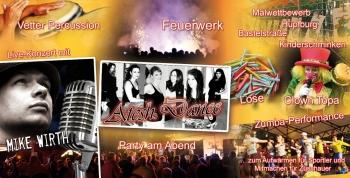 Bühnen- und Rahmenprogramm 2014
