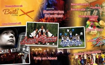 Bühnen- und Rahmenprogramm 2015