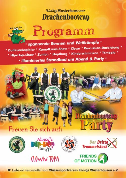 Bühnen- und Rahmenprogramm 2019