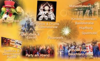 Das Bühnen- und Rahmenprogramm 2012